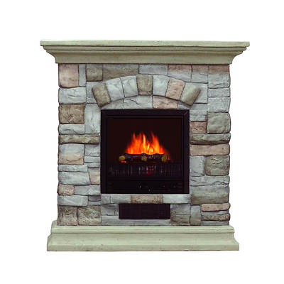 Comfort Glow Westfield Electric Fireplace - Stone