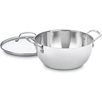 Cuisinart Chef's Classic 5.5-Qt. Stainless Steel Multipurpose Pot with Cover