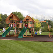 Backyard Discovery Vista All Cedar Swing Set