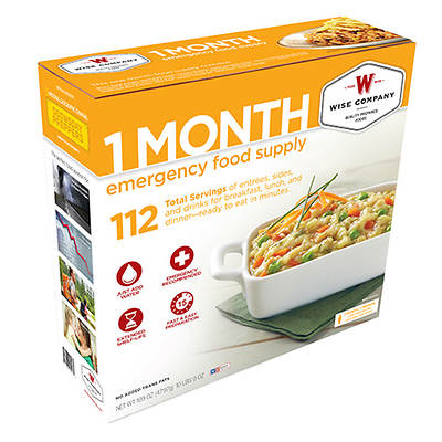 Wise Company 1-Month Emergency Food Supply