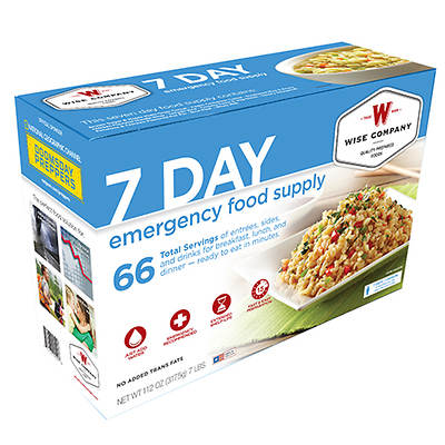 Wise Company 7-Day Emergency Food Supply