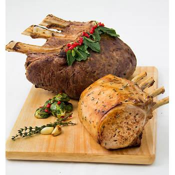 Rastelli Market Fresh Prime Rib Beef & Pork Roast Assortment