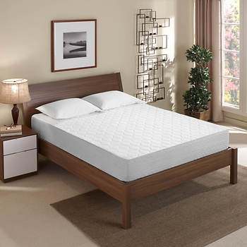 "Sleep Innovations Touch of Comfort King-Size 10"" Gel-Infused Memory Foam Mattress"