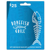 $25 Bonefish Grill Gift Card
