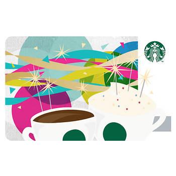 $25 Starbucks Gift Card - Happy Birthday