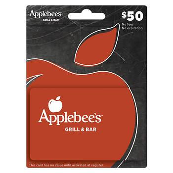 $50 Applebee's Gift Card