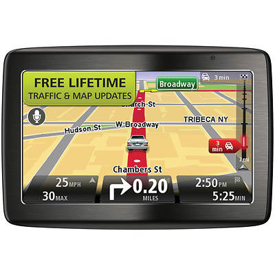 "TomTom VIA 1535 TM 5"" GPS Receiver With Built in Bluetooth and Lifetime Traffic Alerts and Map Updates"