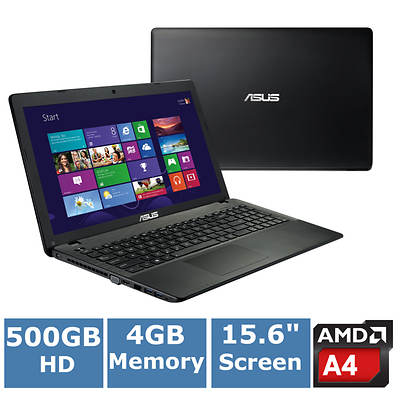 ASUS X552EA-DH41 Laptop, 1.5GHz AMD A4-5000 Quad Core Processor