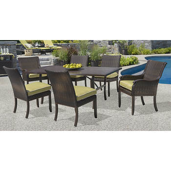 Living Home Outdoors Cordoba 7-Pc. Dining Set