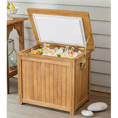 Monterey Teak Patio Cooler