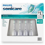 Philips Sonicare e-Series Brush Head, 4 pk.