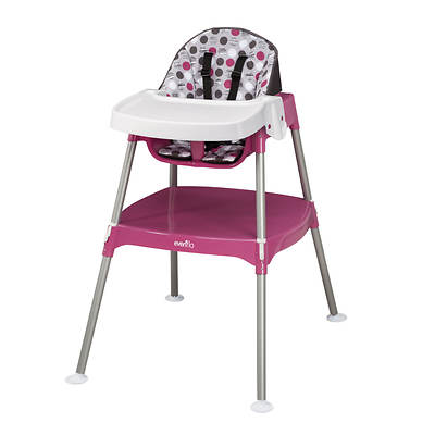 Evenflo Convertible High Chair 3-In-1 - Dottie Rose