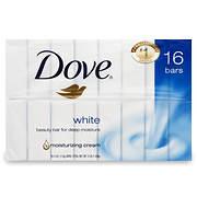 Dove White Bar, 16 pk./64 oz.