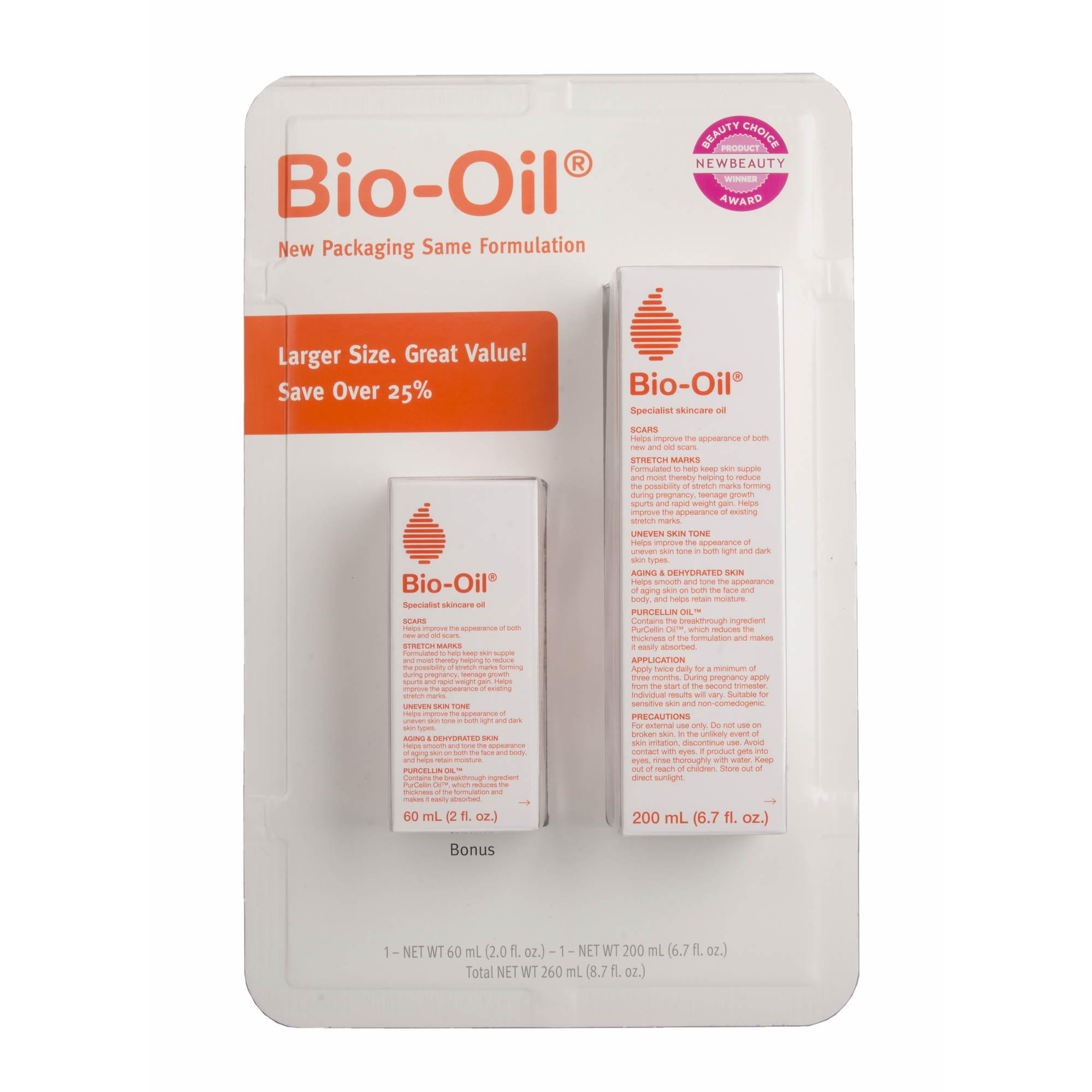 bio oil specialist skincare set 6 7 oz and 2 oz bj 39 s wholesale club. Black Bedroom Furniture Sets. Home Design Ideas