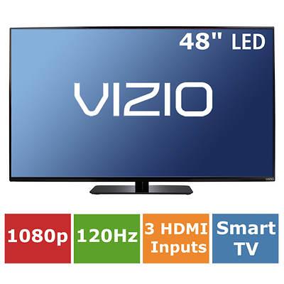 """VIZIO E-Series Full-Array 48"""" Smart LED TV 1080p 120Hz"""
