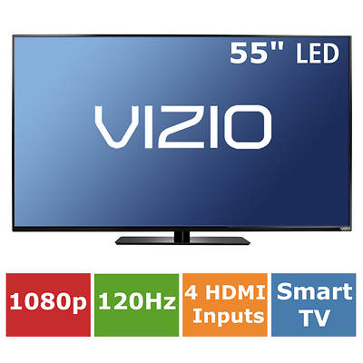 "VIZIO E-Series Full-Array 55"" Smart LED TV 1080p 120Hz"