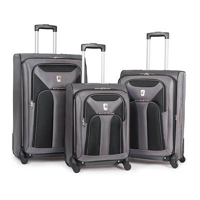Atlantic Altitude Lite 2.0 3-Piece Luggage Set - Titanium