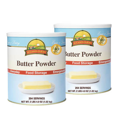 Augason Farms Butter Powder, 2-Pk