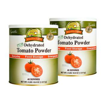 Augason Farms Dehydrated Tomato Powder, 2 pk.