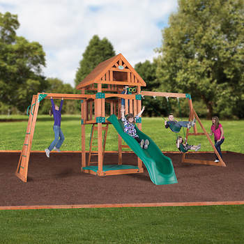 Backyard Discovery Capitol Peak All Cedar Swing Set