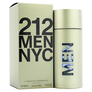 Carolina Herrera 3.4 oz.212 Eau De Toilette Spray