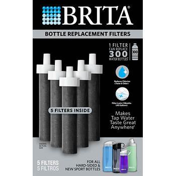 Brita Bottle Replacement Filters, 5 pk.
