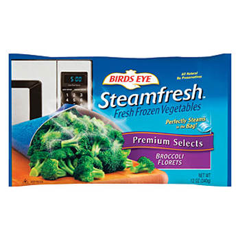 Birds Eye Steamfresh Broccoli Florets, 4 pk./12 oz.