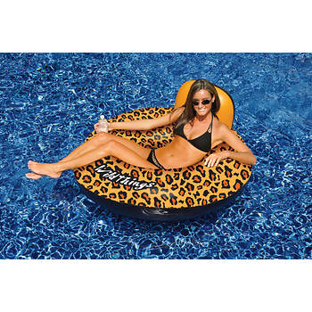 Swimline WildThings Pool Float, 2 pk. - Cheetah