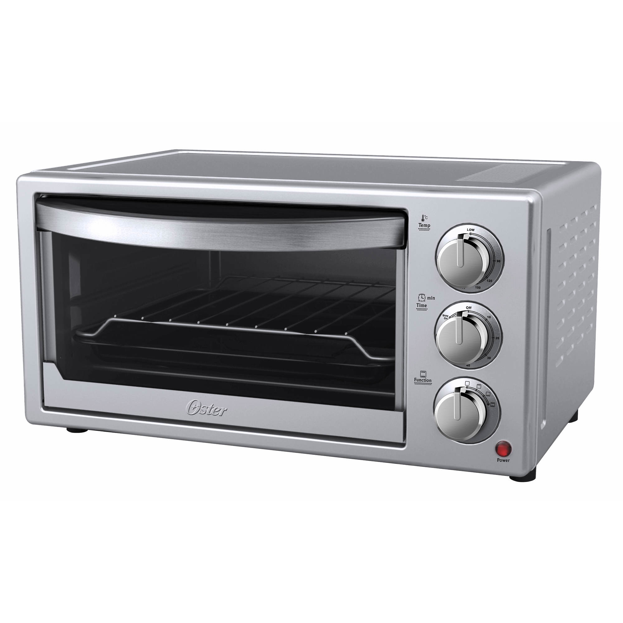 Oster 6-Slice Convection Toaster Oven - Silver/Stainless Steel - BJs ...