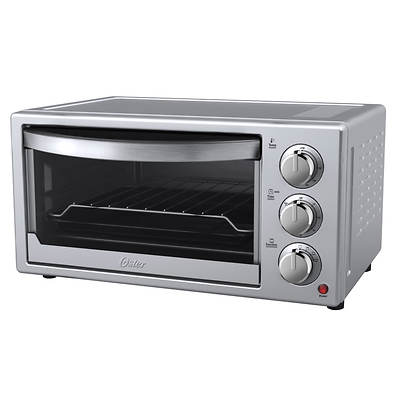 Oster Countertop Convection Oven Tssttvf816 : Oster 6-Slice Convection Toaster Oven - Silver/Stainless Steel - BJs ...