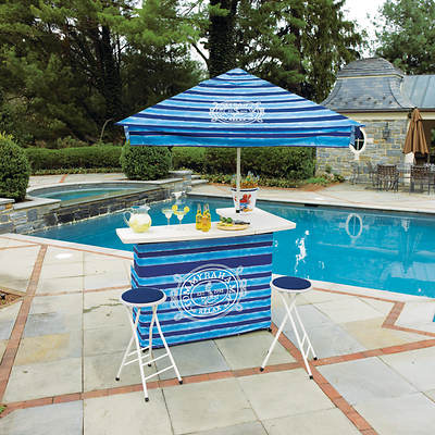 Tommy Bahama Bar and Umbrella Set