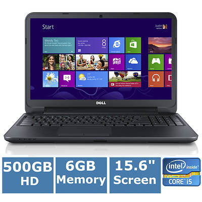 Dell Inspiron I15RV-8524BLK Laptop, 1.8GHz Intel Core i5-3337U Processor