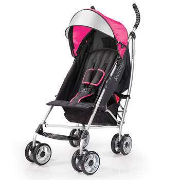 Summer Infant 3D lite Convenience Stroller - Hibiscus Pink