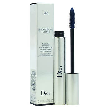 Christian Dior Diorshow Iconic High Definition Lash Curler Mascara, 0.33 oz. - #268 Navy Blue