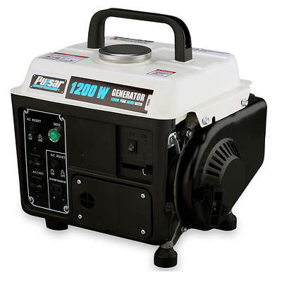 Pulsar Pulsar 1,200w Peak/850w Rated Gas-powered Dual-cycle Portable Generato