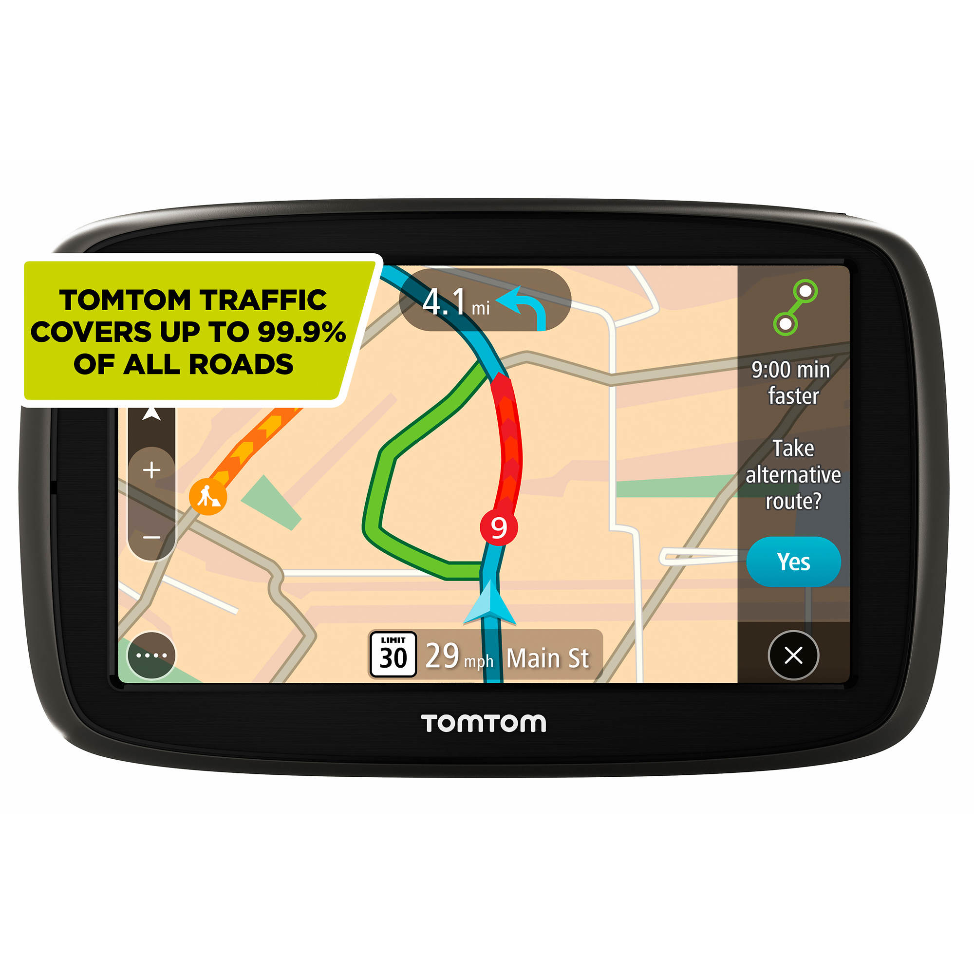 tomtom go 50 s gps with lifetime map traffic updates bj 39 s wholesale club. Black Bedroom Furniture Sets. Home Design Ideas
