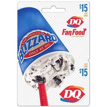 $15 DQ Gift Card
