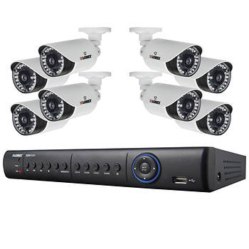 Lorex 8-Channel 8 Real-Time 960H/700 TVL Night Vision Cameras with 1TB H.264 HDD DVR Security System