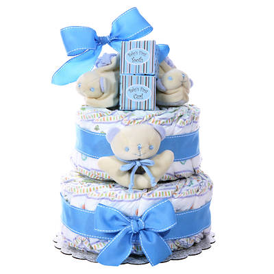 Alder Creek Baby Cakes 2 Tier Diaper Cake - Boy