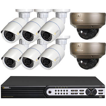 Q-See 8-Channel 8-Camera 1080p Security System with 2TB HDD HD NVR