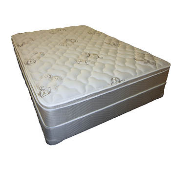 Therapedic Full Comfort Supreme Euro Pillowtop Mattress Set