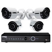 Lorex 8-Channel 4-Camera 4K Security System with 2TB NVR