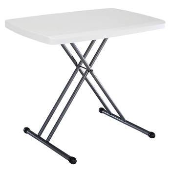 "Lifetime 30"" Personal Table - White/Granite"