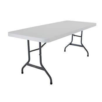 Lifetime 6' Commercial Folding Table, 4 pk. - White/Granite