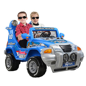 Big Foot Monster Truck 2-Speed Motorized Ride On
