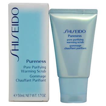 Shiseido Pureness Pore Purifying Warming Scrub, 1.7 oz.