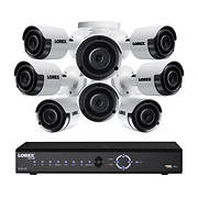 Lorex 16-Channel 8-Camera 4K Security System with 3TB NVR