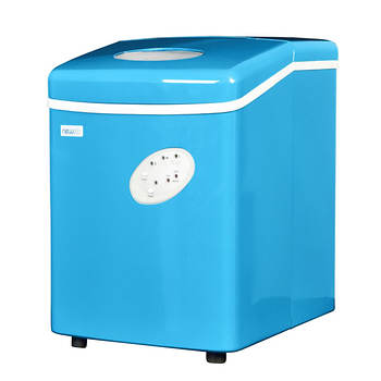 NewAir 28-lb. Portable Ice Maker - Cyan Blue