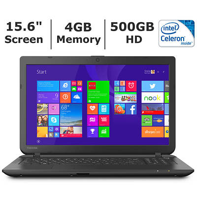 Toshiba Satellite C55-B5298 Laptop, Intel Celeron N2830 Processor