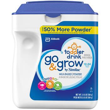Similac Go & Grow Stage 3 Powder Baby Formula, 34 oz.